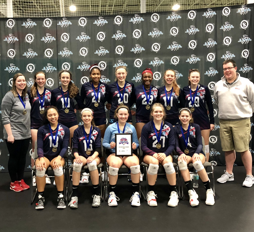2018 14 Allison Champions of the 14 Club Division at First Coast Festival