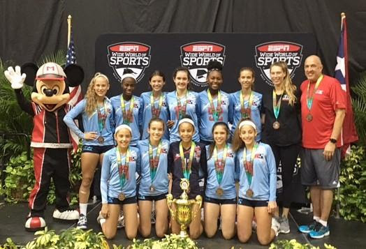 2017 13-Jackie Bronze Medalist of the 13 Open Division at AAU Nationals!