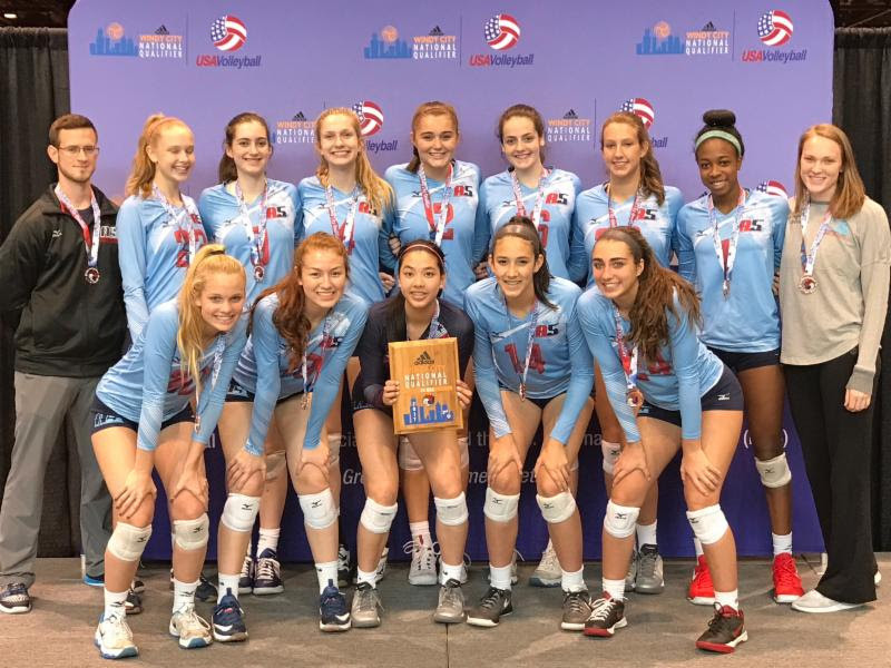 2017 15-JJ Bronze Medalists of the 15 USA Division at Windy City Qualifier!