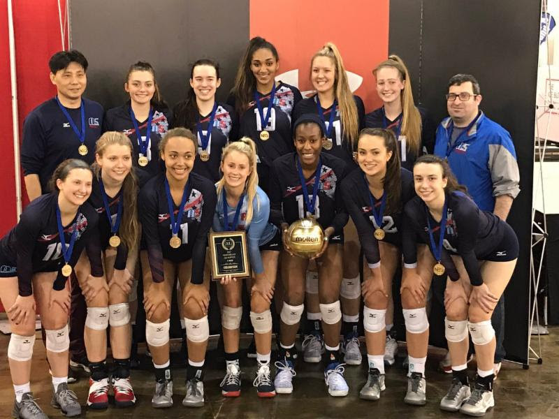 2017 17 Jing Champions of the 17 Open Division at Northeast Qualifier!