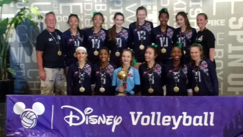 2017 14-Suzanne Gold Medalist of the 14 Open Division at Disney Qualifier