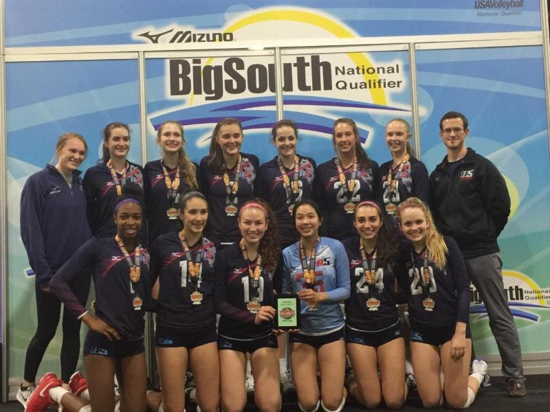 2017 15-JJ Silver Medalist of the 15 USA Division at Big South Qualifier