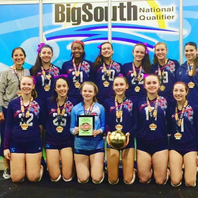 2017 14-USA Gold Medalist of the 14-USA Division at Big South Qualifier