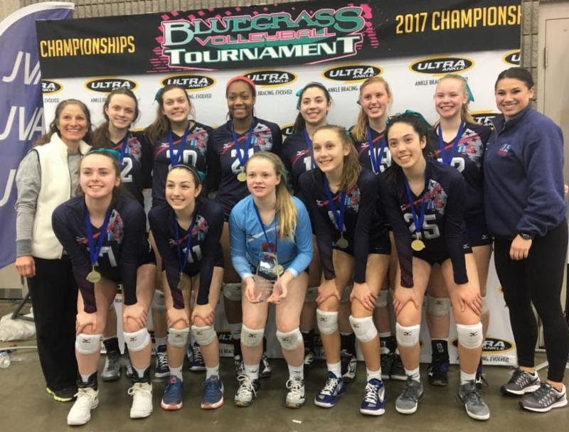 2017 14 Karen Champions of the 14 Premier Division at Bluegrass