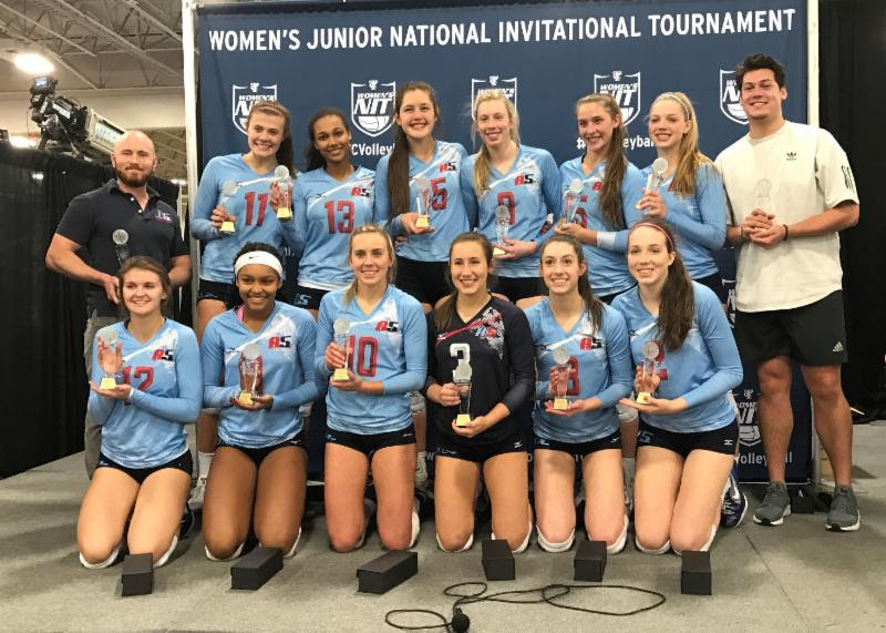 2018 16-Gabe Champions of the 16 Open Division at Women's Junior National Invitational Tournament - the Triple Crown Tournament!