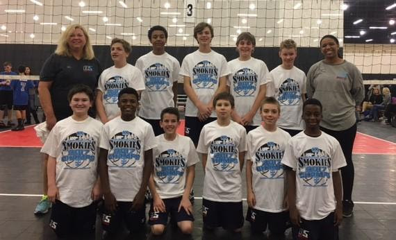 2017 14-Boys Lorri Champions of the 14 Boys Power Division at K2 Wilderness