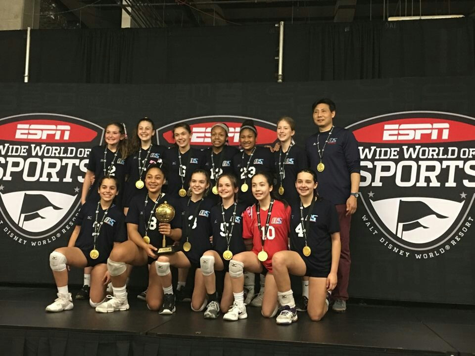 2018 12 Jing Champions of the 12 National Division at Disney Showcase Qualifier