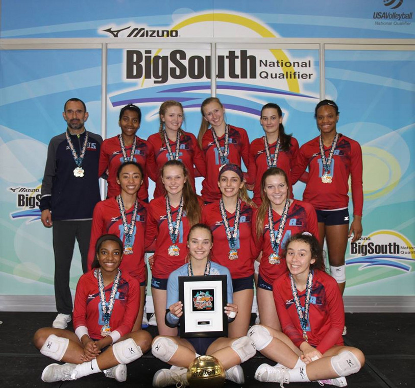 2018 15-Boba Gold Medalist of the 15 Open Division at Big South Qualifier