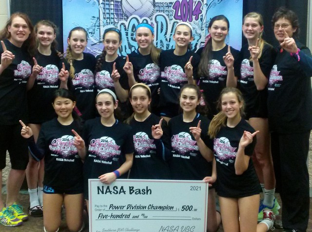 2014 14 Betty Champions of the 14 Power Division at the NASA Bash!