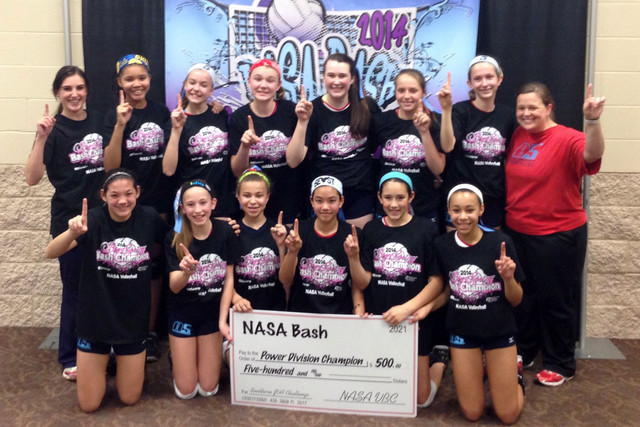 2014 12 Briana Champions of the 12 Power Division at the NASA Bash