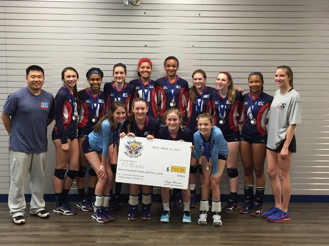 2015 13 PC Champions of the 13 Power Division at the AAU Super Regionals!