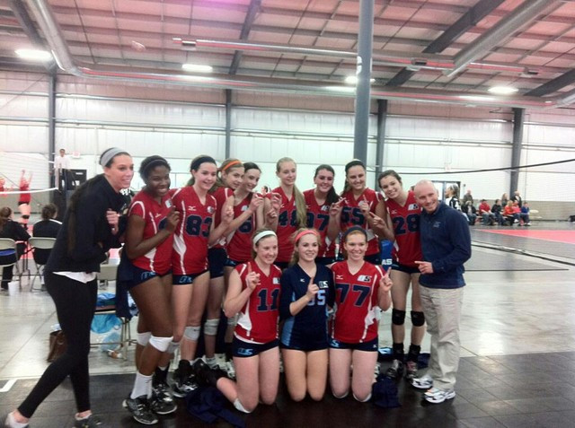 2012 16 Gabe/Jackie Champions of the 16 Open Division at the President Day at SPVB