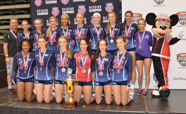 2013 14 Suzanne Bronze Medalist AAU Nationals in 14 Open