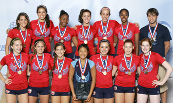 2007 16 Erica National Champions of the 16 American Division at USAV!