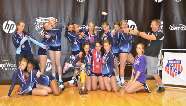 2013 14 Suzanne Bronze Medalist AAU Nationals in 14 Open!