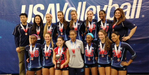 2014 17 Jing Silver Medalist 17 Open USAV Nationals