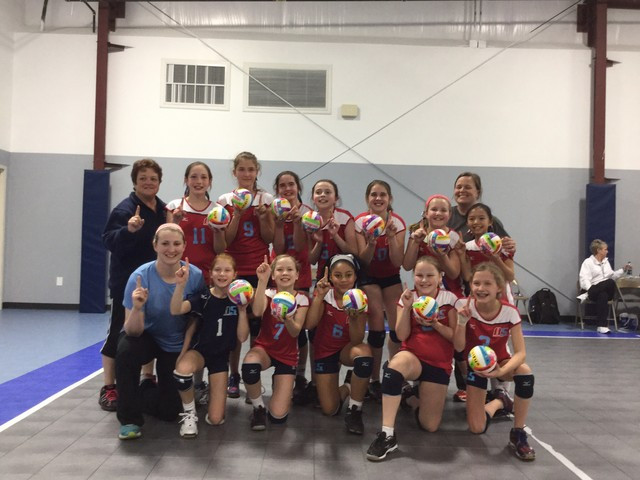 2015 11 Briana Champions of the 11 Club Division of Leapin' Littles