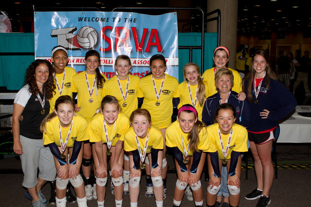 2013 14 Karen Champions of the 14 Power Division at SRVA Regionals