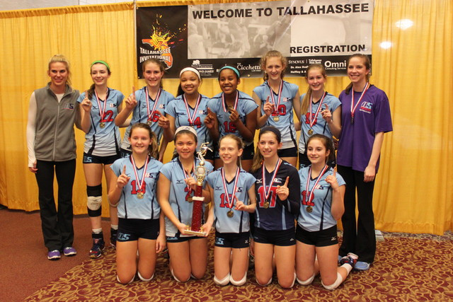 2014 13 Leah Champions of the 13 Power Division at Tallahassee Invitational