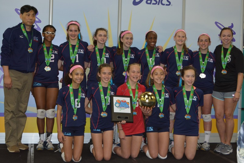 2016 12 Jing Gold at Big South Qualifier in 12 National