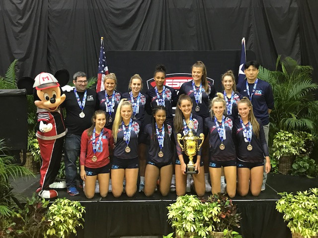 2018: 17 Jing Silver Medalist 17 Open AAU Nationals