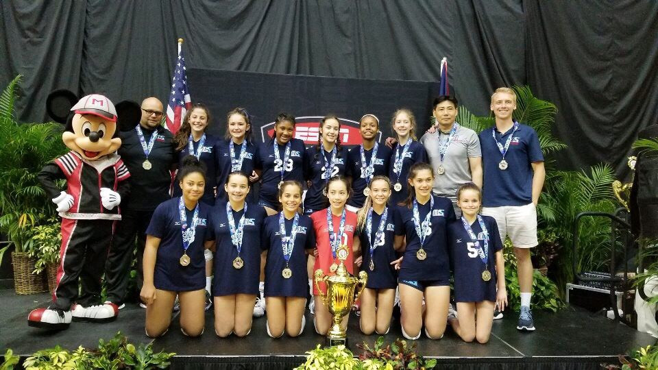 2018 12 Jing AAU Nationals 12 Open Silver Medalists