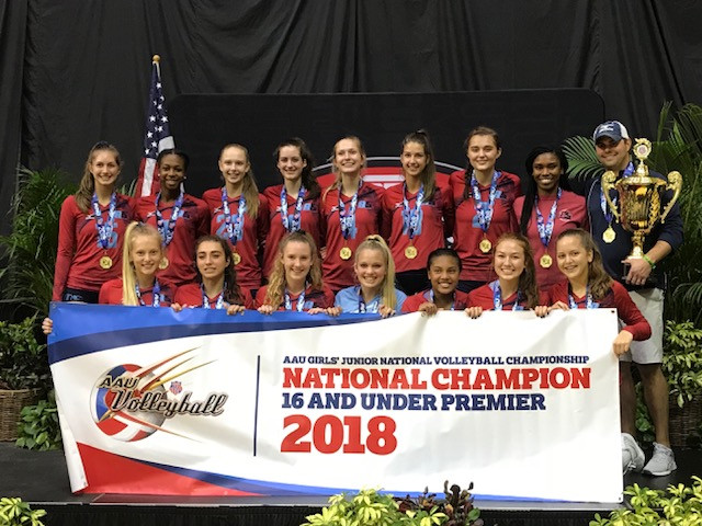2018: 16 Scott National Champions 16 Premier