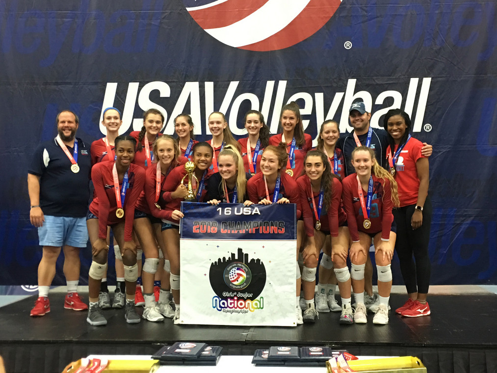 2018: 16 Scott USAV 16 USA National Champs