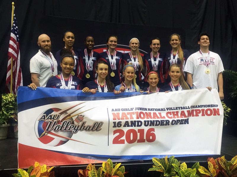 16 Gabe AAU National Champs 16 Open - 2016