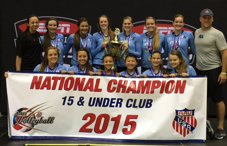 2015 15 Dan National Champions 15 & Under Club Division of AAU