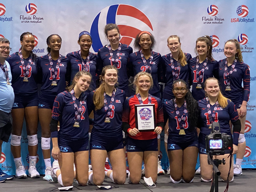 18 Boba, wins the 18 USA division of the FL 18's Girl Qualifier