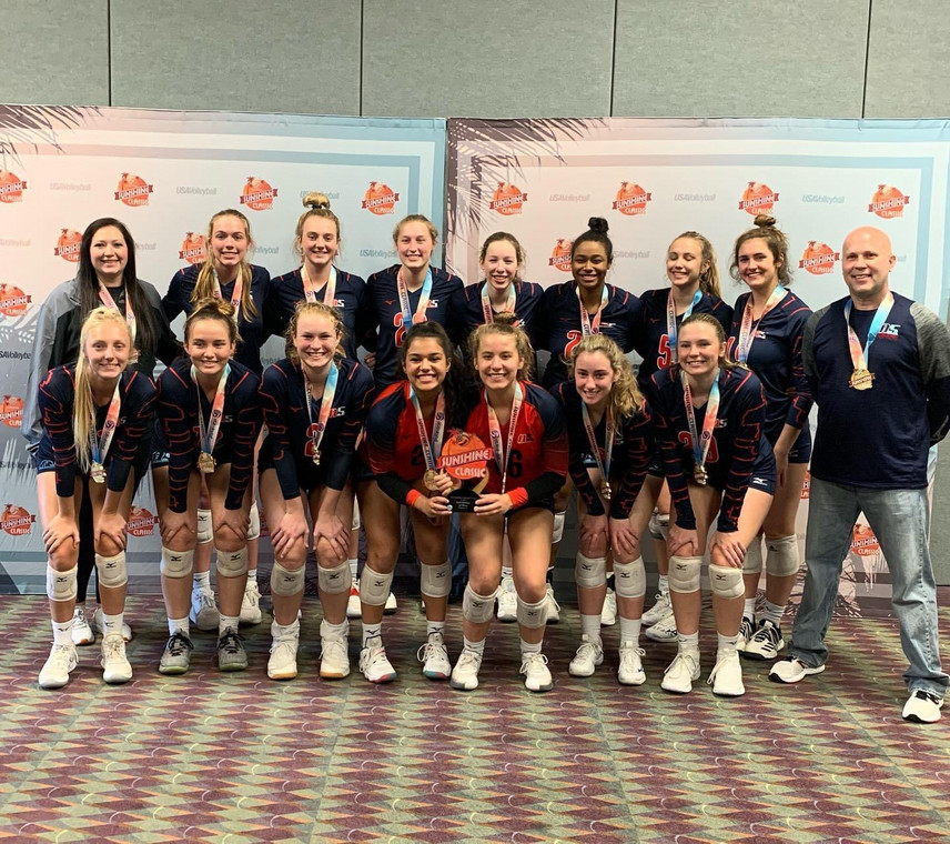17 Kelly Gold Medalist of the 17 USA division of the 2021 Sunshine Qualifier!