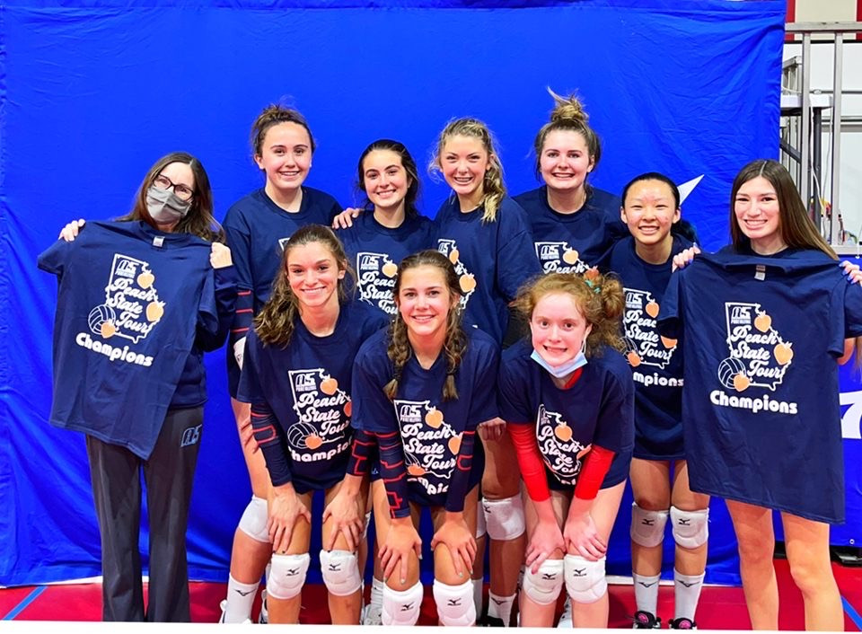 14 Tina wins the 15/16 Club division of the 2021 Peachstate Tour Stop 2