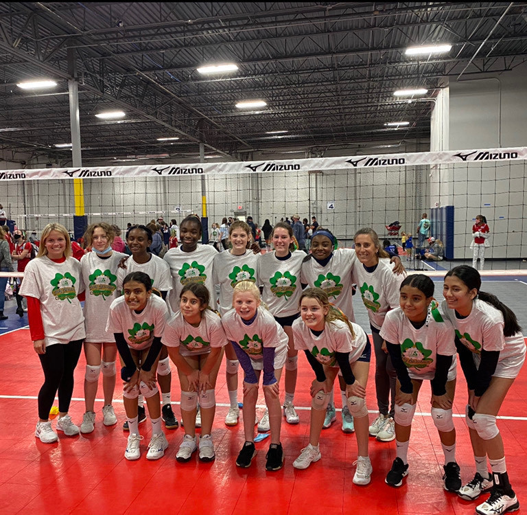 12 Erin champions of the 12 Club division in the 2021 Lucky Leprechaun
