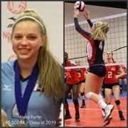 A5 Volleyball Club 2018:  #4 Alexa Fortin