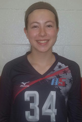 A5 Volleyball Club 2018:  #34 Katie Crocker (Katie)