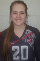 A5 Volleyball Club 2018:  #20 Emilee Harris