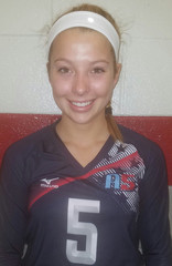 A5 Volleyball Club 2018:  #5 Kaylee Mo Morris (Kaylee Mo)