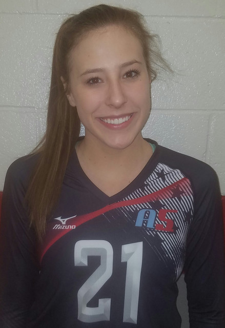 A5 Volleyball Club 2019:  Makenzie Perry (Mak)