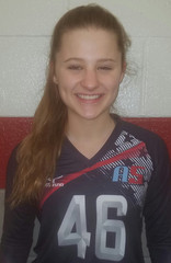 A5 Volleyball Club 2018:  #46 Erin Williamson
