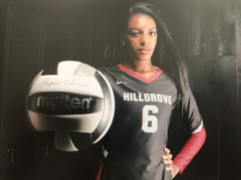 A5 Volleyball Club 2018:  Jasmine Brown