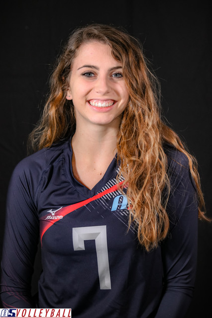 A5 Volleyball Club 2019:  Sarah-Hayes Farley
