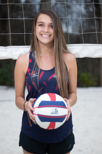 A5 Beach - Regional - Red 2019:    Callie Wallace