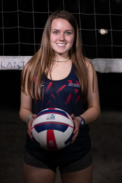 A5 Beach - Regional - Blue 2019:    Ansley Speice