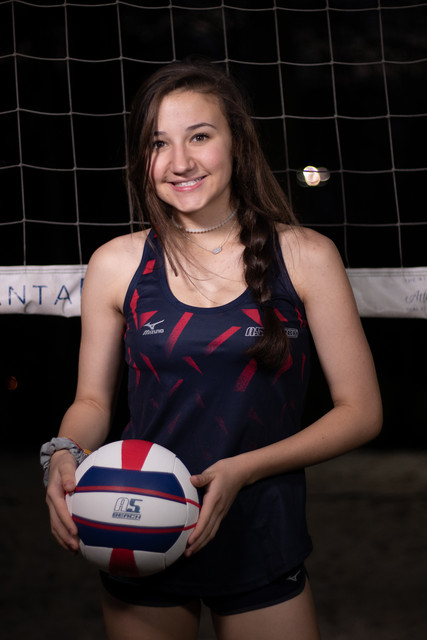 A5 Beach - Regional - Blue 2019:    Maddie Dally